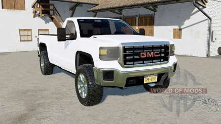 GMC Sierra Regular Cab 2015 for Farming Simulator 2017