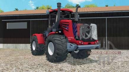 Kirovets K-9450 bright red for Farming Simulator 2015