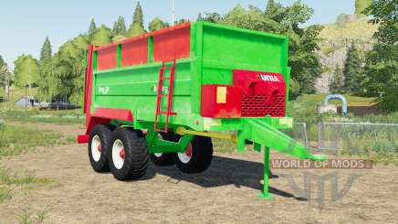 Unia Tytan 10 design selection for Farming Simulator 2017