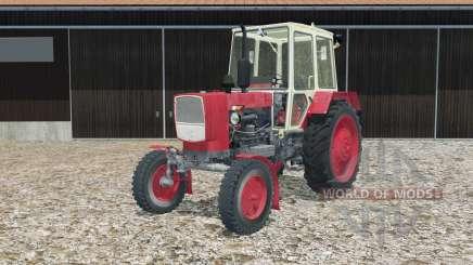 UMZ-6КЛ in red for Farming Simulator 2015