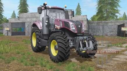 New Holland T8.435 front loader option for Farming Simulator 2017