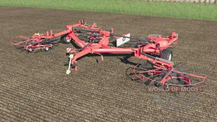 Lely Hibiscus 1515 CD Profi work speed 38 km-h for Farming Simulator 2017
