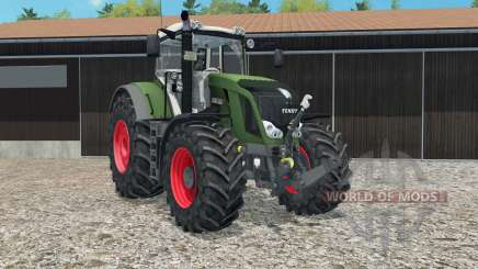 Fendt 828 Vario moveable rear attacheɽ for Farming Simulator 2015