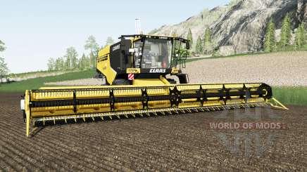 Claas Lexion 760 energy yellow for Farming Simulator 2017