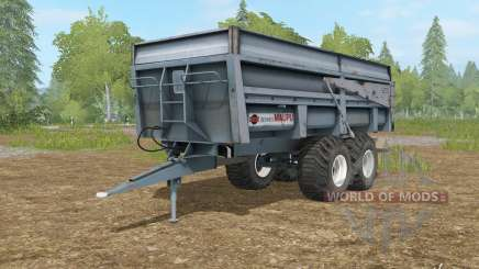 Maupu BBM slate gray for Farming Simulator 2017