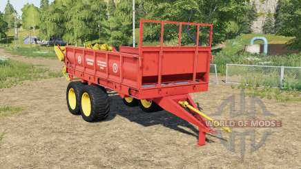 ROWE-6 with animation particles for Farming Simulator 2017