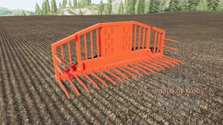 Silage Fork volume 25000 liters for Farming Simulator 2017