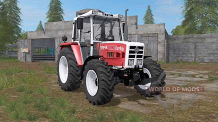Steyr 8090A Turbo carmine pink for Farming Simulator 2017