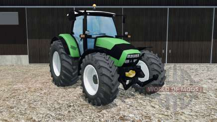 Deutz-Fahr Agrotron K 420 crayola green for Farming Simulator 2015