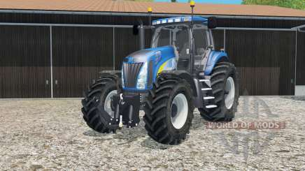 New Holland T8020 tire marks for Farming Simulator 2015