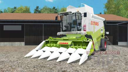 Claas Lexion 480 working animation and lighting for Farming Simulator 2015