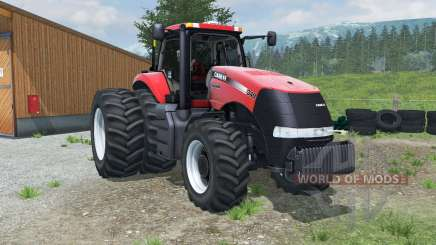 Case IH Magnum 340 dual rear wheels for Farming Simulator 2013