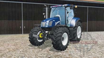New Holland T6.160 Blue Poweɽ for Farming Simulator 2015