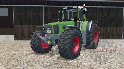 Fendt Favorit 824 Turboshift with basic scripts for Farming Simulator 2015