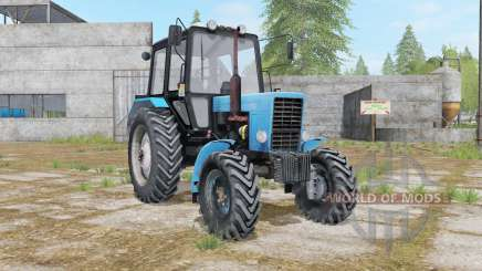 MTZ-82.1 Belarus with three options for Farming Simulator 2017