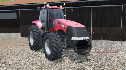 Case IH Magnum CVX with different wheel widths for Farming Simulator 2015