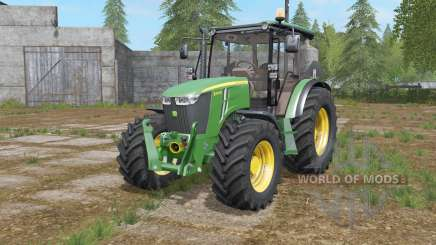 John Deere 5M-series for Farming Simulator 2017