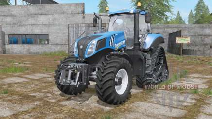 New Holland T8-series wheels options for Farming Simulator 2017