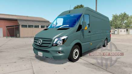 Mercedes-Benz Sprinter 315 CDI LWB (Br.906) 2015 for American Truck Simulator