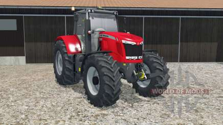 Massey Ferguson 7622 crayola red for Farming Simulator 2015