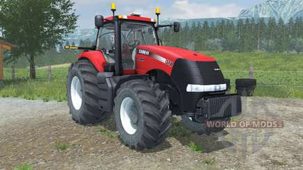 Case IH Magnum 370 CVX digital speedometer for Farming Simulator 2013
