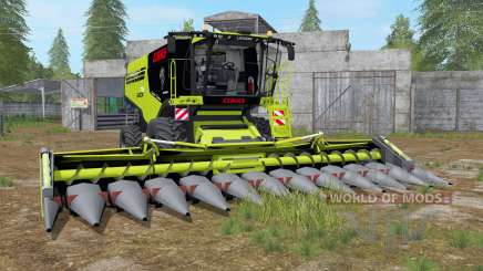 Claas Lexion 795 with headers for Farming Simulator 2017