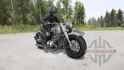 BMW R 75 silver chalice for MudRunner