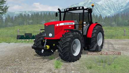 Massey Ferguson 6480 More Realistic for Farming Simulator 2013