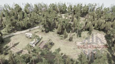 Dead forest for MudRunner