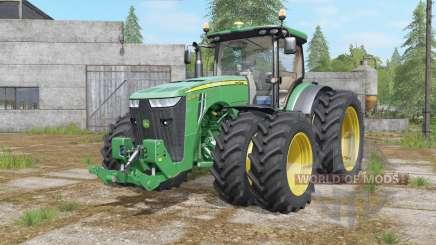 John Deere 8320R&8370R double wheels for Farming Simulator 2017
