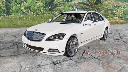Mercedes-Benz S 600 (W221) 2010 for BeamNG Drive
