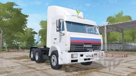 KamAZ-54115 animated dashboard for Farming Simulator 2017