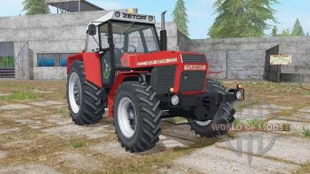 Zetor 16145 Turbo complete dirt for Farming Simulator 2017