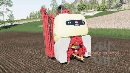 Hardi Mega 2200 work speed 30 km-h for Farming Simulator 2017
