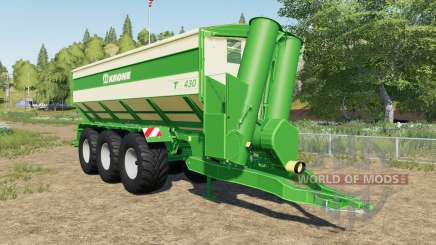 Krone TX 430 with tow hitch for Farming Simulator 2017