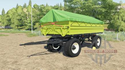 Fortschritt HW 80 with other tires to choose for Farming Simulator 2017