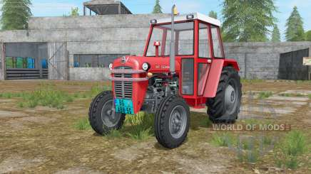 IMT 533 DeLuxe deep carmine pink for Farming Simulator 2017