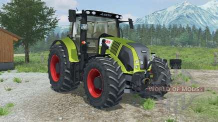 Claas Axion 850 with MX T12 for Farming Simulator 2013