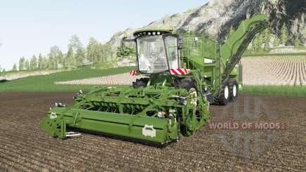 Holmer Terra Dos & Terra Felis color selection for Farming Simulator 2017