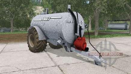Abbey 2000R french gray for Farming Simulator 2015