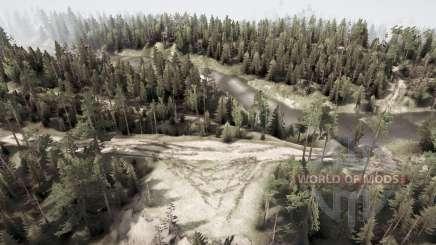 Russia. Ural. 110 kilometer for MudRunner