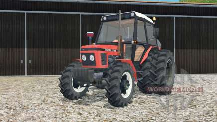 Zetor 7745 rear twin wheels for Farming Simulator 2015