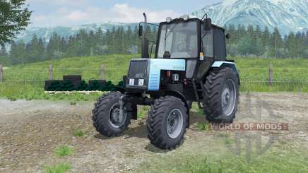 MTZ-Belarus 1025 with PKU-0.8 for Farming Simulator 2013