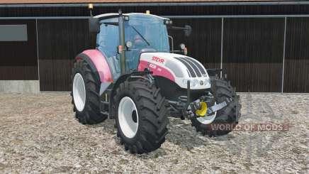 Steyr 6230 CVT has more power for Farming Simulator 2015