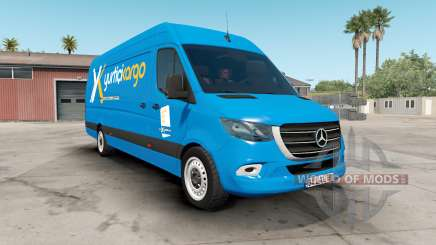 Mercedes-Benz Sprinter VS30 Vaɳ 316 CDI 2019 for American Truck Simulator