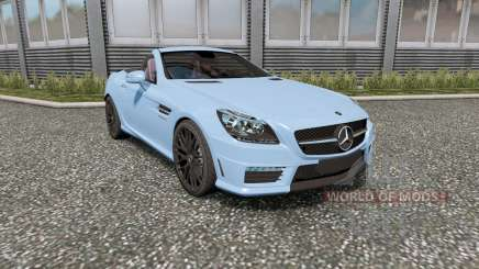 Mercedes-Benz SLK 55 AMG (R172) 2012 for Euro Truck Simulator 2