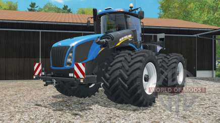 New Holland T9.565 with dual float wheels for Farming Simulator 2015