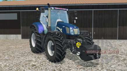 New Holland T6.160 with weight for Farming Simulator 2015