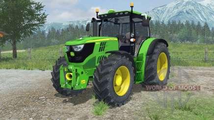 John Deere 6150R animated hydraulic for Farming Simulator 2013