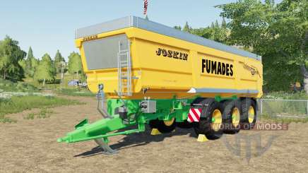 Joskin Trans-Space 8000-27 TRC150 Fumades for Farming Simulator 2017